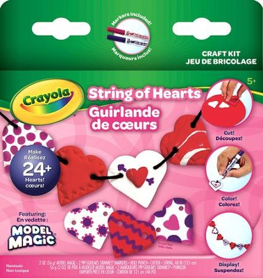 Model Magic, Heartstrings Garland  -