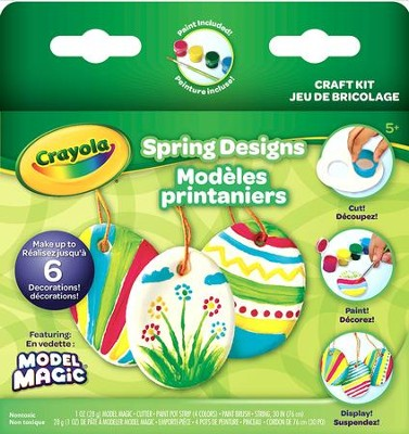 Model Magic, Springtime Ornaments  -