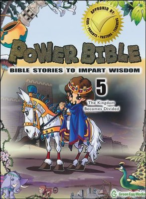 Power Bible: Bible Stories to Impart Wisdom, # 5 - The Kingdom Becomes Divided  -     By: Shin-Joong Kim