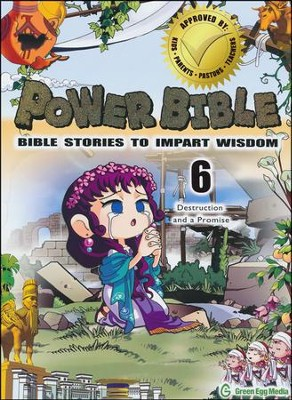 Power Bible: Bible Stories to Impart Wisdom, # 6 - Destruction and a Promise  -     By: Shin-Joong Kim