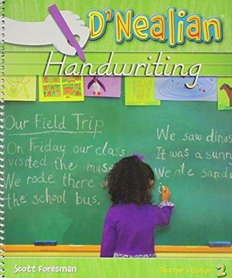 D'Nealian Handwriting Teacher Edition Grade 2 (2008 Edition)  -