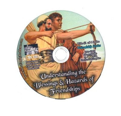 Understanding the Blessings and the Hazards of Friendships Audio CD  -     By: Dr. S.M. Davis