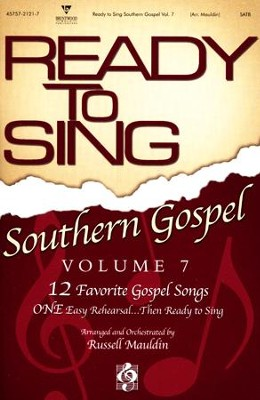 Ready to Sing Southern Gospel, Volume 7   -