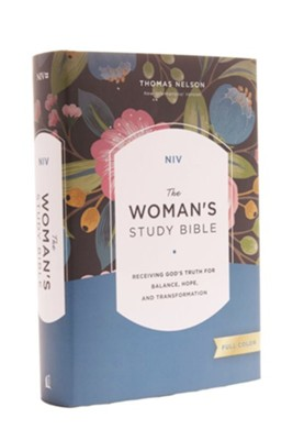 NIV The Woman's Study Bible, Hardcover, Full-Color  -     Edited By: Dorothy Kelley Patterson