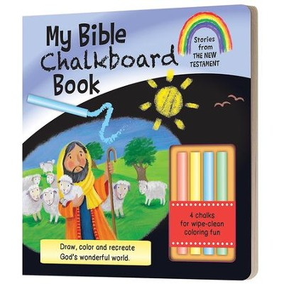 My Bible Chalkboard Book: Stories from the New Testament  -