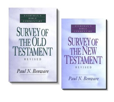 Survey of the Old & New Testament Set, 2 Volumes   -     By: Paul N. Benware