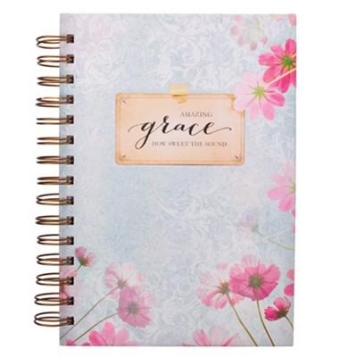 Amazing Grace, How Sweet the Sound Spiral-bound Journal  -