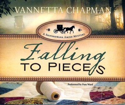 #1: Falling to Pieces unabridged audio book on CD  -     By: Vannetta Chapman