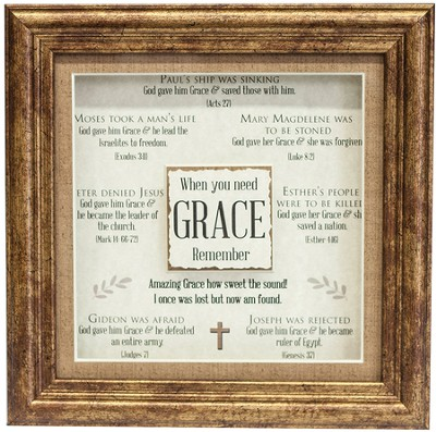 Grace Framed Art, Acts 27  -