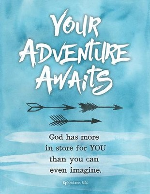 Your Adventure Awaits Plaque  -