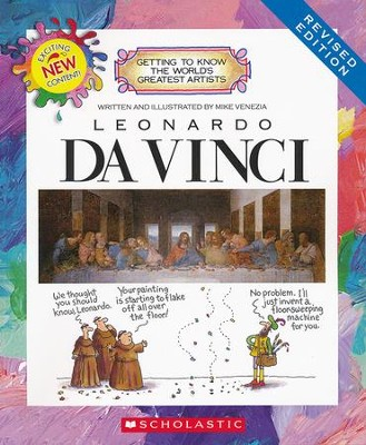 Getting to Know the World's Greatest Artists: Da Vinci   -