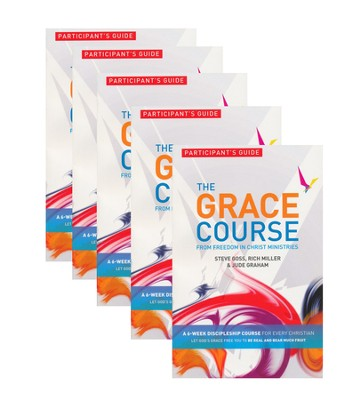 The Grace Course, Participant's Guide, 5 pack   -     By: Steve Goss