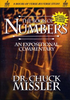 The Book of Numbers - An Expositional Commentary on DVD with CD-ROM  -     By: Chuck Missler