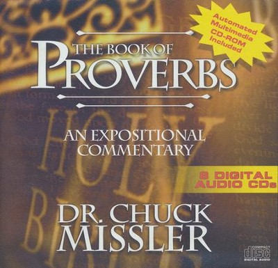 The Book of Proverbs - An Expositional Commentary on CD with CD-ROM  -     By: Chuck Missler