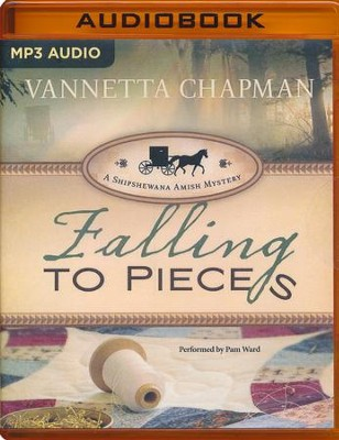 #1: Falling to Pieces unabridged audio book on MP3-CD  -     By: Vannetta Chapman