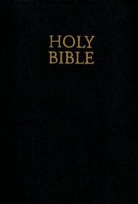 KJV Giant Print Bible, Black Imitation Leather  -