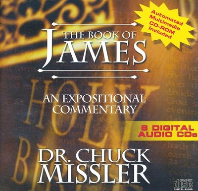 The Book of James - An Expositional Commentary on CD with CD-ROM  -     By: Chuck Missler