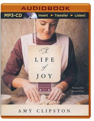 A Life of Joy: A Novel - unabridged audio book on MP3-CD  -     By: Amy Clipston