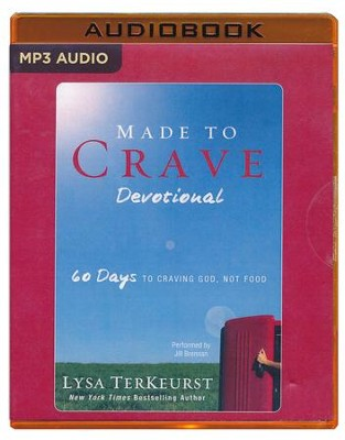 Made to Crave Devotional: 60 Days to Craving God, Not Food - unabridged audio book on MP3-CD  -     By: Lysa TerKeurst