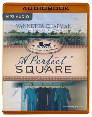 #2: A Perfect Square - unabridged audio book on MP3-CD  -     By: Vannetta Chapman