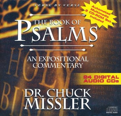 The Book of Psalms - An Expositional Commentary on CD with CD-ROM  -     By: Chuck Missler
