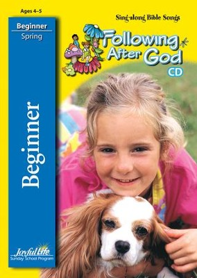 Following after God Beginner (ages 4 & 5) Audio CD (Spring Quarter)  -