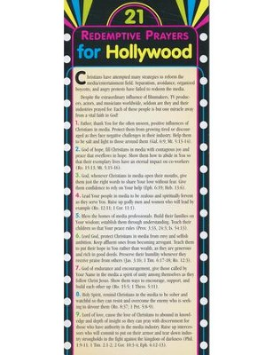 21 Redemptive Prayers for Hollywood, Prayer Cards  -     By: Mastermedia