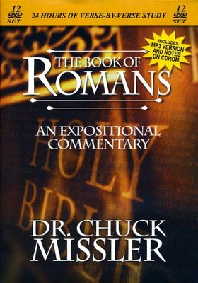 The Book of Romans - An Expositional Commentary on DVD with CD-ROM  -     By: Chuck Missler