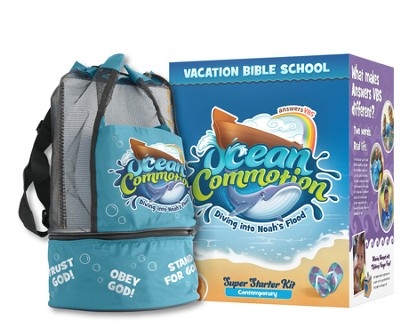 Ocean Commotion VBS Super Starter Kit with Traditional Music  -