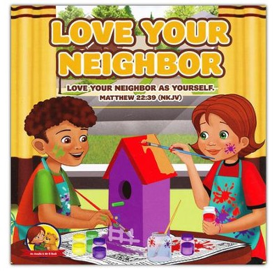 Love Your Neighbor: Matthew 22:39 NKJV, Board Book  -     By: Nicoletta Antonia