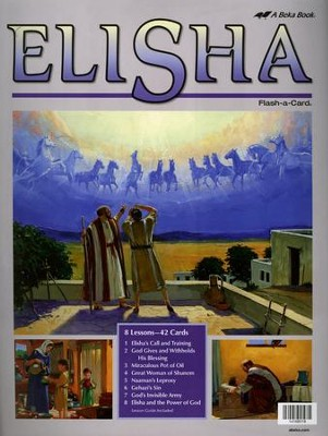 Elisha Flash-a-Card Set   -
