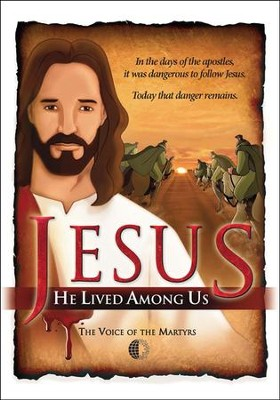 Jesus: He Lived Among Us, DVD   -