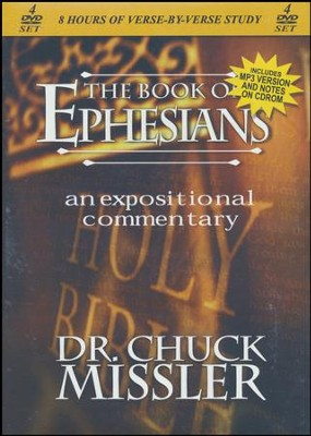 The Book of Ephesians - An Expositional Commentary on DVD with CD-ROM  -     By: Chuck Missler