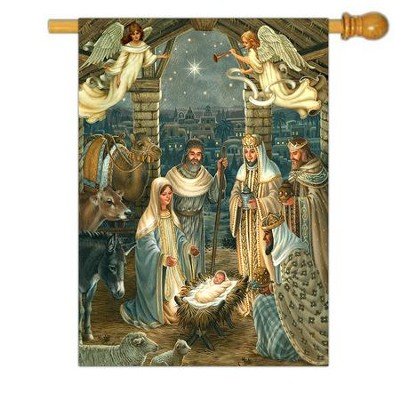 Royal Nativity Flag, Large  -