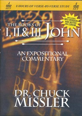The Books of John I II III - An Expositional Commentary on DVD with CD-ROM  -     By: Chuck Missler