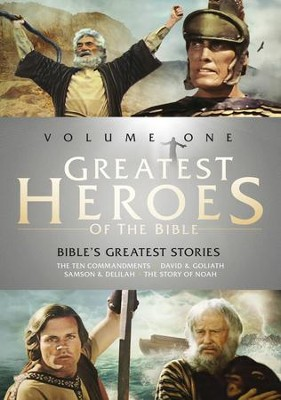 Greatest Heroes of the Bible, Volume 1   -