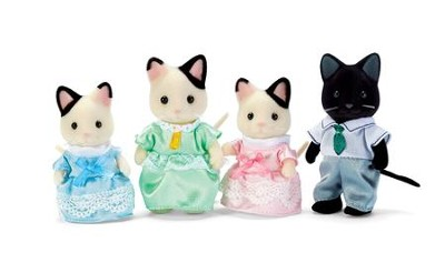 Calico Critters, Tuxedo Cat Family  -
