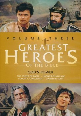 Greatest Heroes of the Bible, Volume 3   -