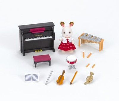 Calico Critters, School Music Set  -