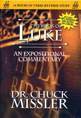 The Book of Luke - An Expositional Commentary on DVD with CD-ROM  -     By: Chuck Missler