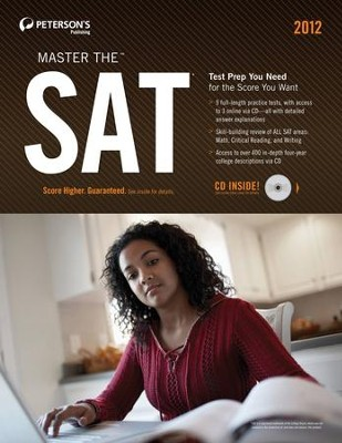 Master the SAT: Practice Test 3: Practice Test 3 of 6 - eBook  -     By: Phil Pine