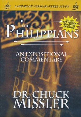 The Book of Philippians: An Expositional Commentary on  DVD with CD-ROM   -     By: Chuck Missler