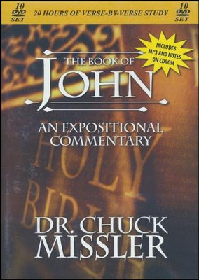 The Book of John - An Expositional Commentary on DVD with CD-ROM  -     By: Chuck Missler