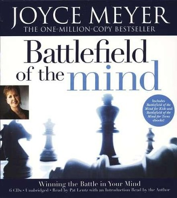 Battlefield of the Mind, Unabridged Audiobook on CD  -     By: Joyce Meyer