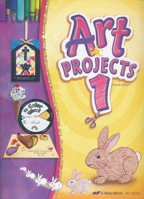 Abeka Art Projects Grade 1 New Edition  -