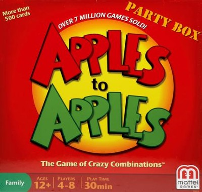 Apples to Apples Party Box   -