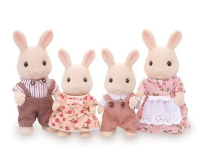 Calico Critters, Calico Critters, Sweetpea Rabbit Family  -