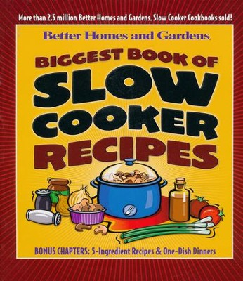 Biggest Book of Slow Cooker Recipes  -