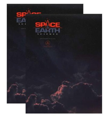 BJU Space and Earth Science Grade 8 Student Text, Third Edition    -