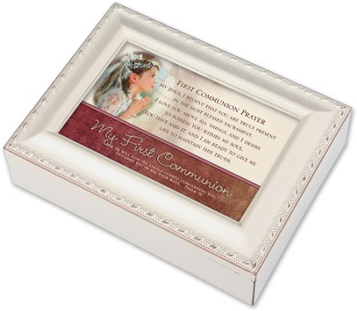 My First Communion Music Box, Girl  -